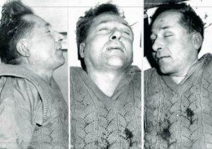 Pośmiertna fotografia Józefa Franczaka (ps. Lalek), który zginął w walce z SB i ZOMO w 1963 r. na Lubelszczyźnie.